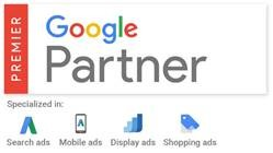 billede af google adwords google premier partner logo
