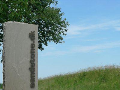 hjemmeside til Sandstone - kilde:sandstone.dk